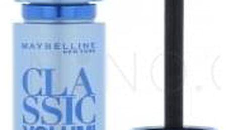 Maybelline Classic Volum Express 8,5 ml voděodolná řasenka pro objem a výživu řas pro ženy Black