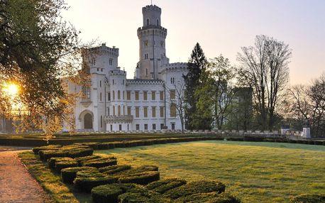 3denní romantika u zámku Hluboká nad Vltavou