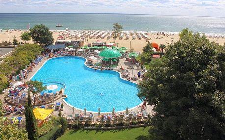 Bulharsko, Slunečné pobřeží - 3* hotel přímo na pláži s polopenzí, autobusem