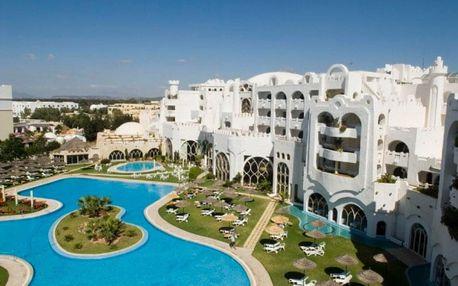 Tunisko, Yasmine Hammamet, letecky na 8 dní all inclusive