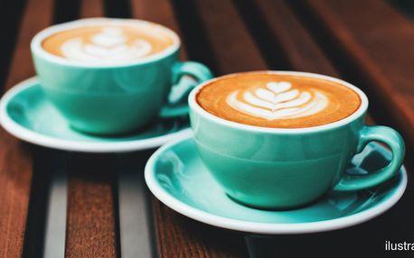 Káva pro 2: espresso, cappuccino i filtrovaná
