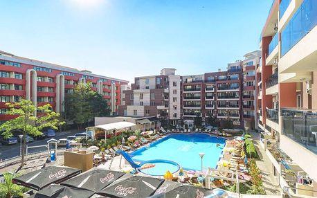 Bulharsko, Slunečné pobřeží: Hotel*** se snídaní, 5 minut od pláže