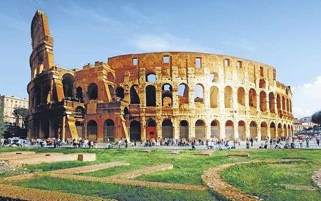 Itálie, Řím, letecky na 4 dny snídaně
