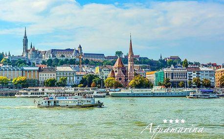Budapešť neobyčejně ve 4* historickém botelu na Dunaji s lahví šampaňského a snídaněmi + platnost do prosince 2019