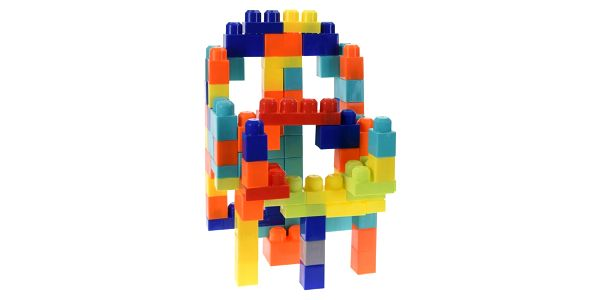 Dětská stavebnice, 80 ks