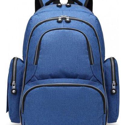 Mateřský modrý batoh na kočárek Tessy 6706
