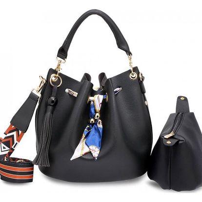 Dámská černá kabelka Tanya 615