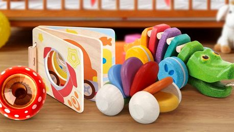 Dětské hračky Plan Toys pro rozvoj smyslů