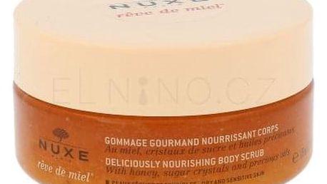 NUXE Rêve de Miel Deliciously Body Scrub 175 ml výživný tělový peeling pro ženy