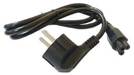 Avacom pro notebookové zdroje, 1,8m černý (L-E)