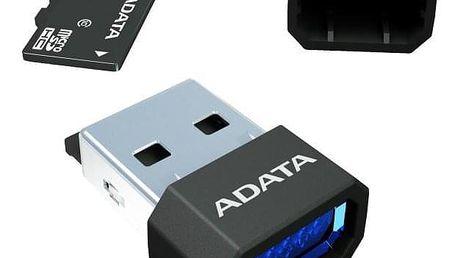ADATA 64GB Class 10 UHS-U1 (50R/10W) + čtečka MicroReader Ver.3 černá (AUSDX64GUICL10-RM3BKBL)