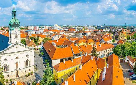 Lázně Győr v příjemném penzionu se snídaní a celodenním vstupem do termálů – bez víkendových příplatků