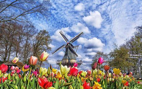 3 denní zájezd: Amsterdam a největší kvetoucí park v Evropě Keukenhof a větrné mlýny