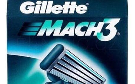Gillette Mach3 8 ks náhradní břit pro muže
