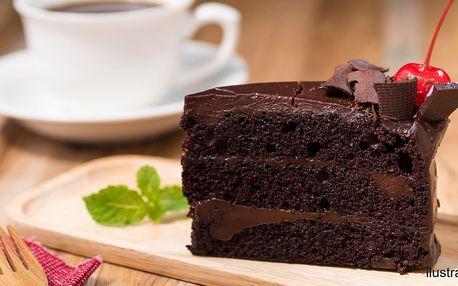 Káva nebo čaj s dezertem podle výběru