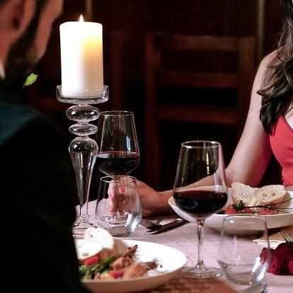 Valentýnské menu: prosecco i kuřecí supreme