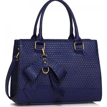 Dámská námořnicky modrá kabelka Cintia 374b