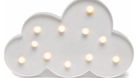 DecoKing Svítící dekorace Mráček teplá bílá, 11 LED