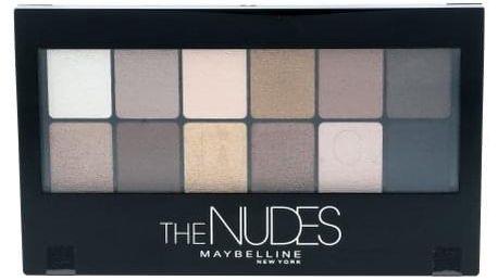 Maybelline The Nudes Eyeshadow Palette 9,6 g paletka očních stínů pro ženy