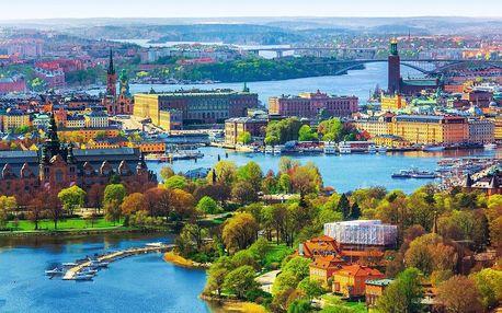 Poznejte kouzlo Pobaltí s ochutnávkou Stockholmu s ubytováním a snídaní