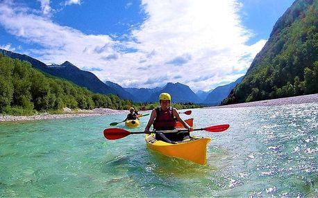 Rafting v podhůři Julských Alp s koupáním u moře s ubytováním a snídaní