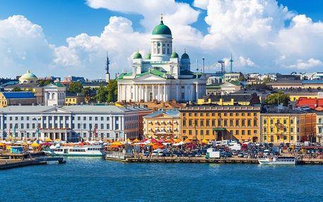 Krásy Pobaltí a Skandinávie s návštěvou Helsinek