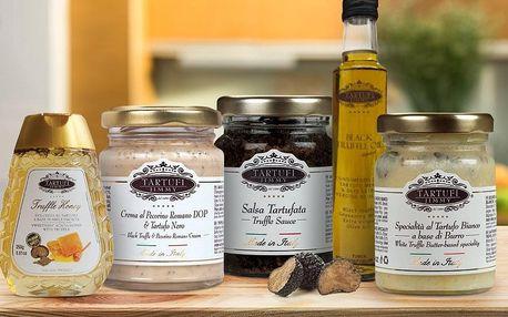 Lanýžové speciality: olej, pasta i celý lanýž