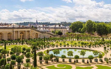 Romantická Paříž se zastávkou ve Versailles ubytování v hotelu ** se snídaní a vjezdem do Paříže