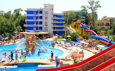 Bulharsko, Slunečné pobřeží: 4* hotel, all inclusive, 5 minut od pláže - autobusem
