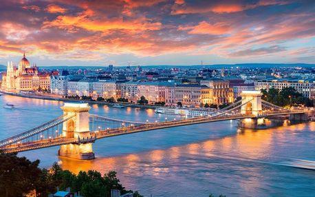 Hotel v centru Budapešti s dítětem do 12 r. zdarma