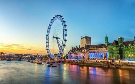 5 denní Londýn se zastávkou v Oxfordu a Stonehenge s ubytováním a snídaní