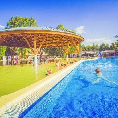 Bük pro rodiny + vstup do lázní a bazén