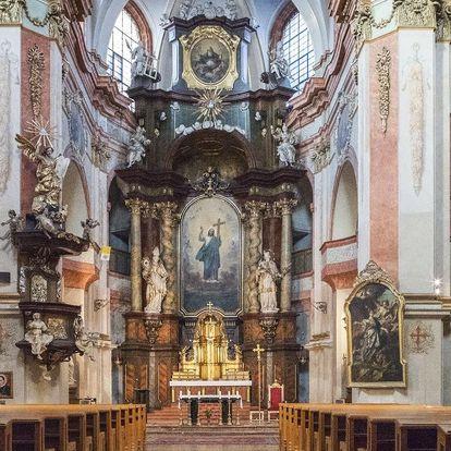 Vstupenka na koncert v kostele sv. Kajetána