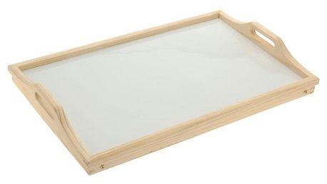 Orion Dřevěný tác do postele 50 x 30 cm