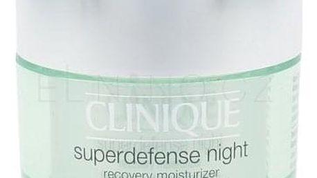 Clinique Superdefense 50 ml noční hydratční pleťový krém pro ženy
