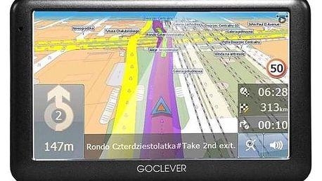 GoClever Navio 2 540 MapFactor Lifetime černá (GCDN2540NR)