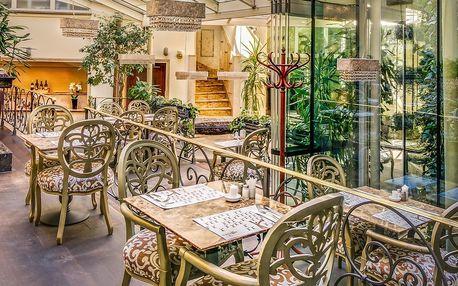 30% sleva na vše v luxusní restauraci U Dominikána v centru Prahy