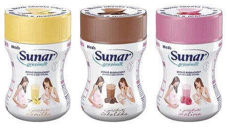 SUNAR GRAVIMILK Ochutnávkové balení (3x300 g)