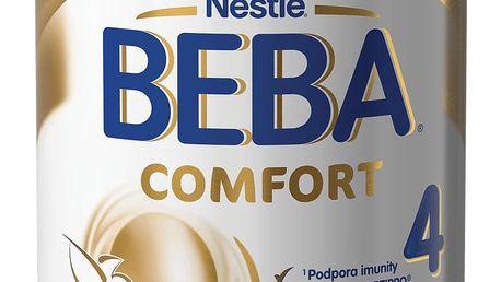 6x NESTLÉ BEBA 4 Comfort (800 g) – kojenecké mléko