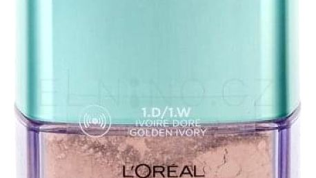 L´Oréal Paris True Match Minerals Skin-Improving 10 g pudrový makeup pro ženy 1.D/1.W Golden Ivory