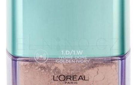 L´Oréal Paris True Match Minerals Skin-Improving 10 g pudrový makeup pro ženy 1.D/1.W Golden Ivory