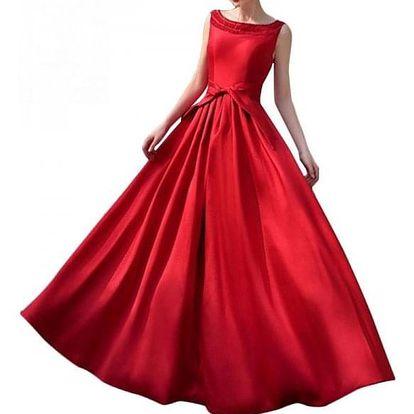 Elegantní šaty se širokou sukní - 2 barvy