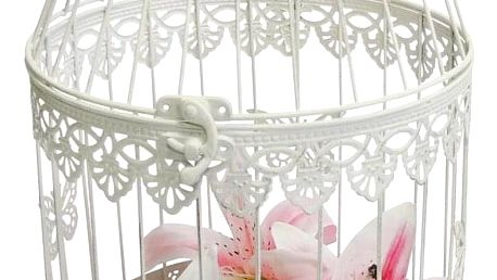 Stardeco Dekorativní klec Papillon, 44 cm, 44