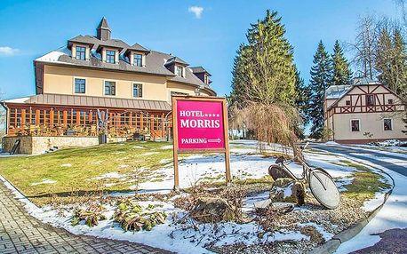 Golf Hotel Morris **** Mariánské Lázně s bohatým wellness programem, golfem, polopenzí + dítě do 11,9 let zdarma
