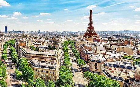 Francie na 2 nebo 3 noci pro 2 osoby se snídaněmi. Romantická Paříž a její úchvatné památky.