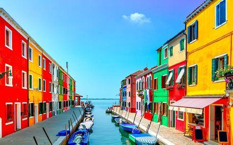 Výlet do Benátek a na ostrov krajek Burano