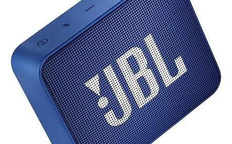 JBL GO 2 modrý