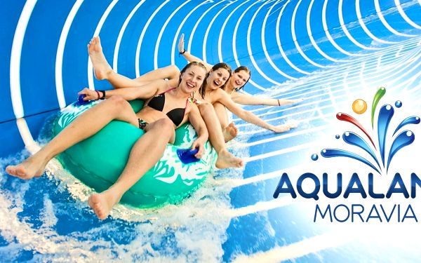 Celodenní vstup do Aqualandu Moravia pro 3 osoby