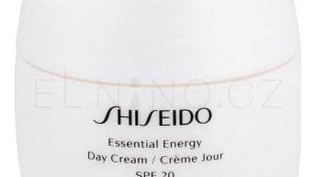 Shiseido Essential Energy Day Cream SPF20 50 ml hydratační pleťový krém pro ženy