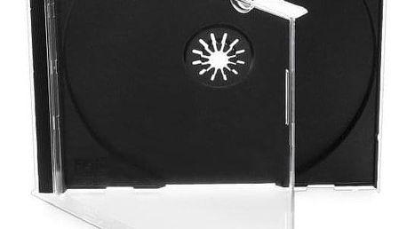 Cover IT pro CD,10mm jewel, 10ks/bal černý (27001P10)
